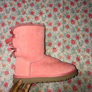 Pink Ugg Boots Women's Sz7